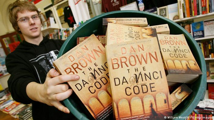Dan Brown The Da Vinci Code (William West/AFP/Getty Images)