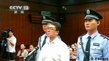 China Politik Skandal Wang Lijun Urteil