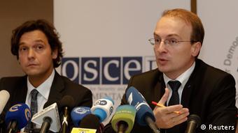 OSZE PK zu Parlamentswahlen in Weißrussland