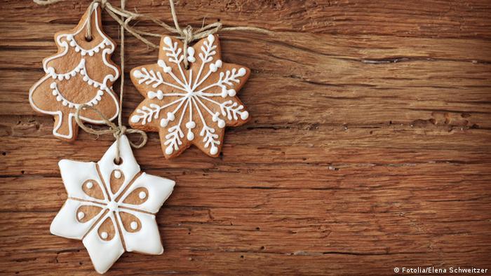 Рождественские подарки - пряники
