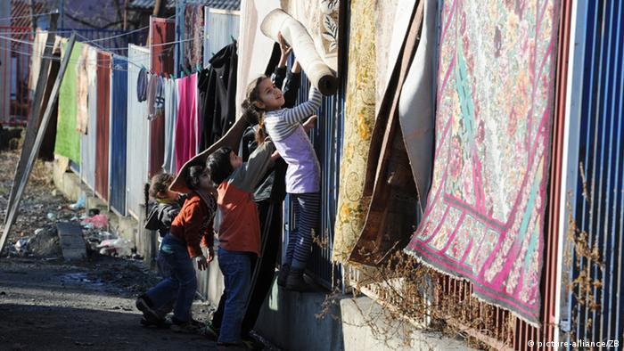 Kosovo Flüchtlingslager Roma