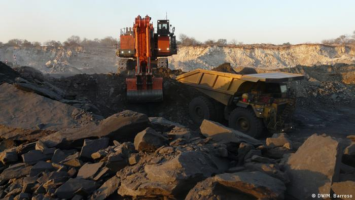 Mosambik Megaprojekt Kohle
