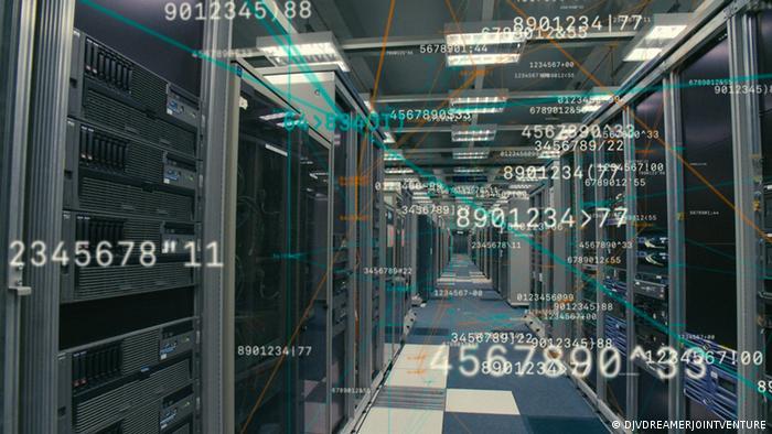Geschäfte in Milli-Sekunden - Das Milliardenspiel der Finanzmärkte findet nicht mehr auf dem Börsenparkett, sondern auf Servern statt. - Szene aus dem Film Speed - Auf der Suche nach der Verlorenen Zeit, von Florian Opitz (Copyright: DJVDREAMERJOINTVENTURE)