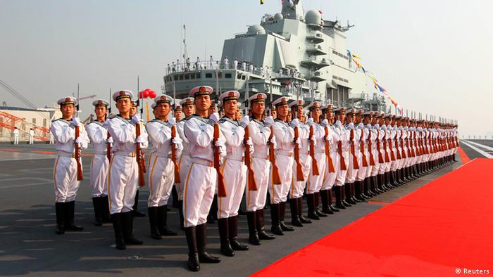 China erster Flugzeugträger