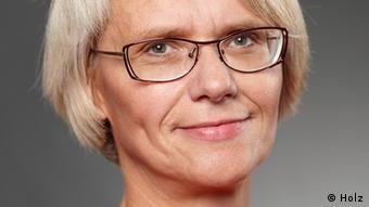 Gerda Holz, del ISS.