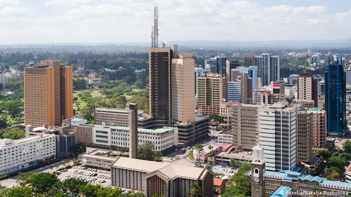 Nairobi Skyline Kenia Stadtansicht