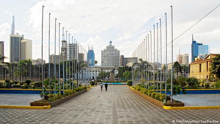 Skyline von Nairobi, Kenia. Foto: Vladimir Kondrachov