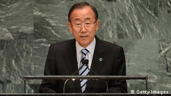UN Secretary-General Ban Ki-Moon Photo: EMMANUEL DUNAND/AFP/GettyImages)