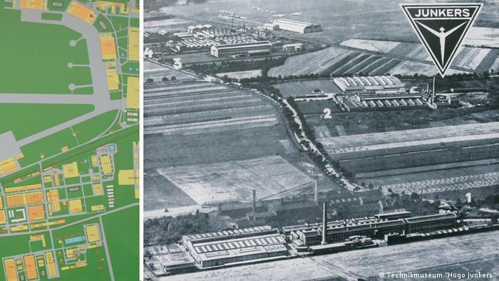 Заводы Юнкерса в Дессау, 1926 год