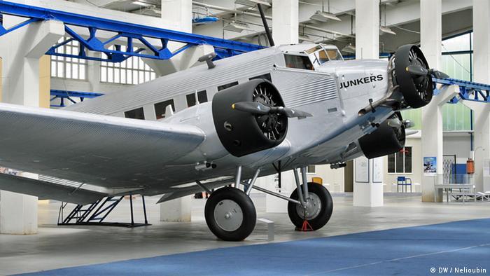 Пассажирский Ju 52 в Техническом музее Хуго Юнкерса в Дессау
