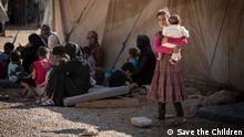 Syrien Flüchtlinge Kinder Za'atari Camp Jordanien Save the Children (Save the Children)