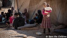 Syrien Flüchtlinge Kinder Za'atari Camp Jordanien Save the Children