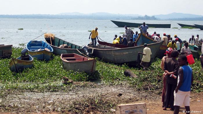 Uganda es uno de los países ribereños del lago Victoria. La industria pesquera es una fuente importante de ingresos.