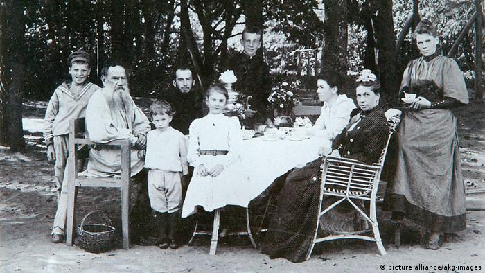 Lew Nikolajewitsch Tolstoj Familienbild