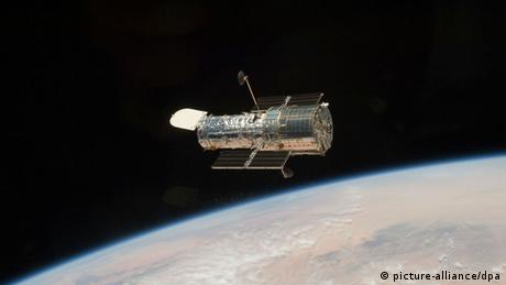 Hubble Space Telescope, photographed in 2009