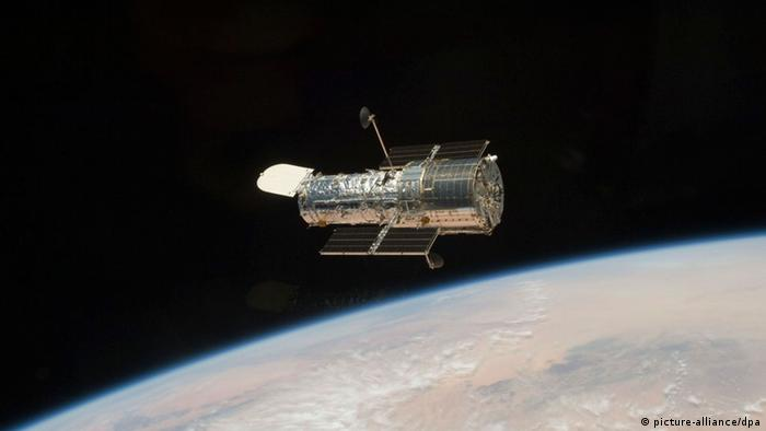 Weltraumteleskop Hubble Weltall Galaxien All Weltraum Teleskop (picture-alliance/dpa)