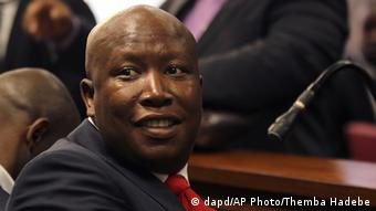 Vor Gericht: Julius Malema (Foto: AP Photo/Themba Hadebe)