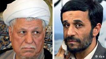 Stichwahl in Iran zwischen Rafsandschani und Ahmadi-Nedschad