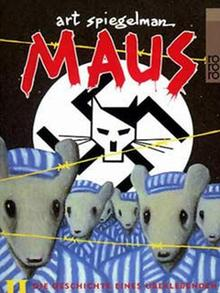 The cover of Spiegelman's Maus comic