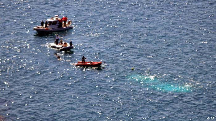 Miles de personas intentan cruzar el Mediterráneo cada año.