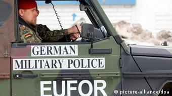 Bundeswehr Einsatz in Bosnien und Herzegowina Archivbild
