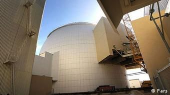 Atomreaktor in der iranischen Hafenstadt Buschehr (Foto:Fars)