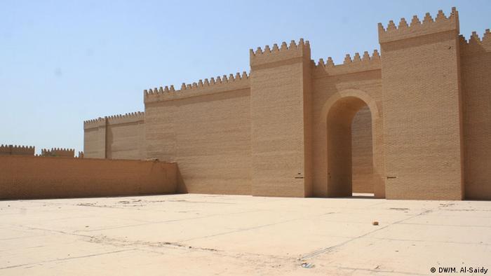 Bildergalerie Ruinen von Babylon im Irak