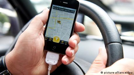 Online-Bestelldienste mischen Taxibranche auf (picture-alliance/dpa)