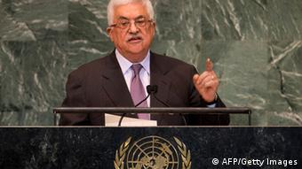 Mahmoud Abbas, Chairman of the Executive Committee of the Palestinian Liberation Organization and President of the Palestinian Authority, addresses to the 67th United Nations General Assembly meeting September 27, 2012 at the United Nations in New York. (Photo: AFP)