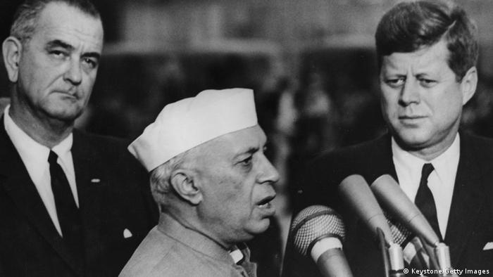 Jawaharlal Nehru Indien ehemaliger Premierminister