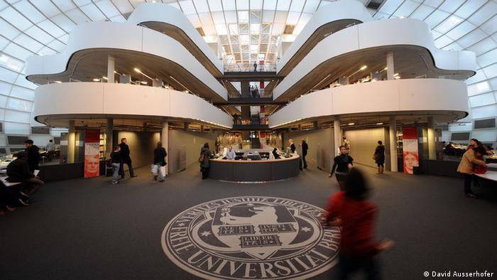 Architektur Universitäten Deutschland Philologischen Bibliothek, Freie Universität Berlin