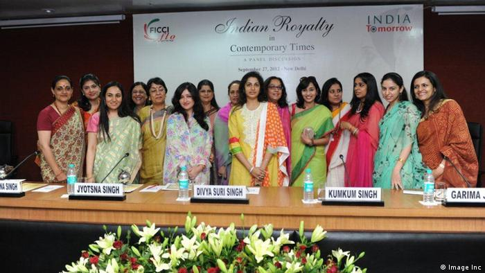 Indian Royalty in Contemporary Times event by the Young FICCI Ladies Organization (YFLO). Photo: Image Inc