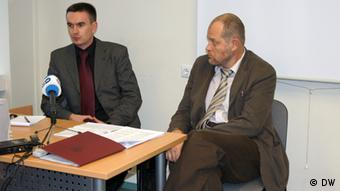 Денис Мельянцов (слева) и Юрий Дракохруст
