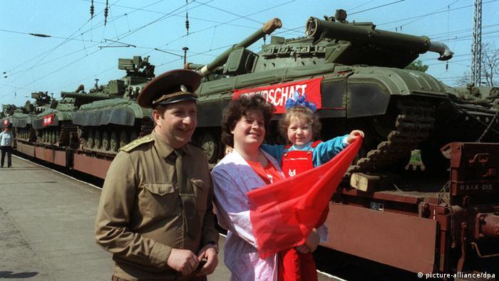 Советские войска покидают ГДР. 1989 г.