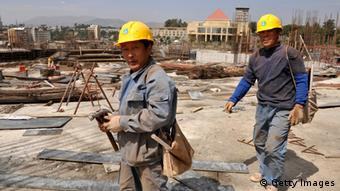 China Einfluss in Afrika Baustelle in Addis Ababa Äthiopien (Getty Images)