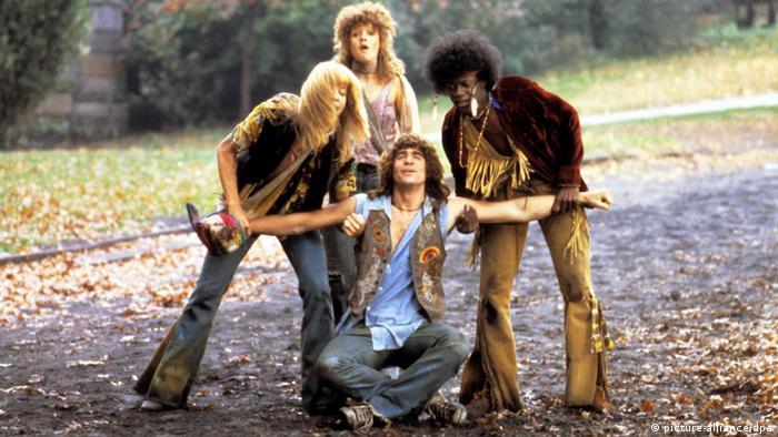 Filmszene Hair Verfilmung Musical 1977 Milos Forman