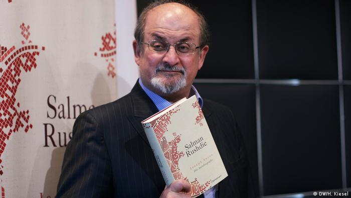 Salman Rushdie in Berlin