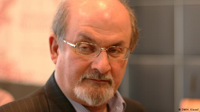 salman rushdie freedom of expression Novelist salman rushdie holds paperback copy of his controversial  salehi  said: fair officials chose the theme of freedom of expression but.