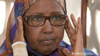 Hawa Aden Mohamed was awarded this year's refugee award.Copyright: UNHCR/unhcr.de Bild geliefert von Rouven Brunnert/ UNHCR-Deutschland.