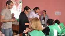 Inside a polling station (photo: Amaliya Oganjanyan)