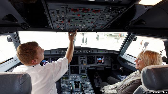 Cockpit Airbus A319