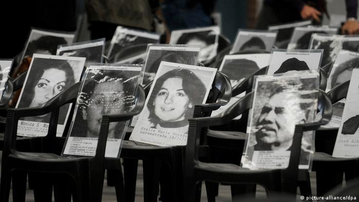 Argentinien Verschwundene (picture-alliance/dpa)