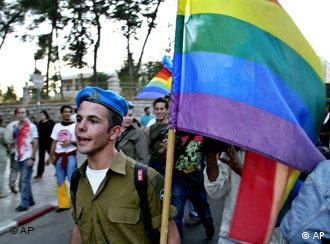 Gay-Pride Parade in Jerusalem 2004