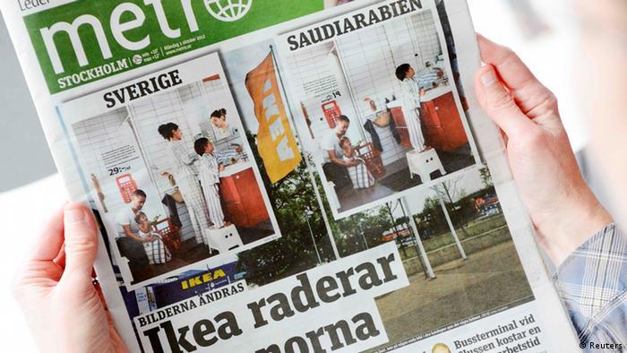 Women wiped from Ikea′s Saudi catalog | News | DW | 01 10 2012