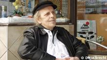 Peter Paetzold no Café Müller, local também frequentado pelos Beatles