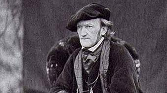 Richard Wagner pictured in 1868
