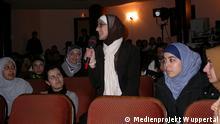 Projekti Medial Wuppertal - diskutim mes migrantëve në një kinema në Wuppertal.