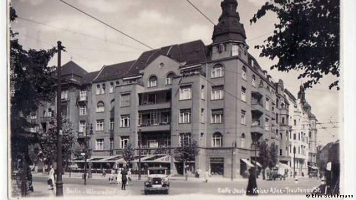 Берлин, угол Tratenaustraße