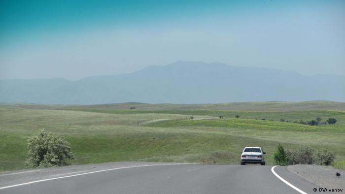 Новая скоростная автомагистраль в Казахстане