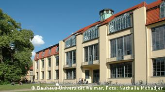 The old Bauhaus workshop building